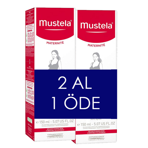 Mustela Maternite Stretch Marks Prevention Cream 150ml | 2 AL 1 ÖDE