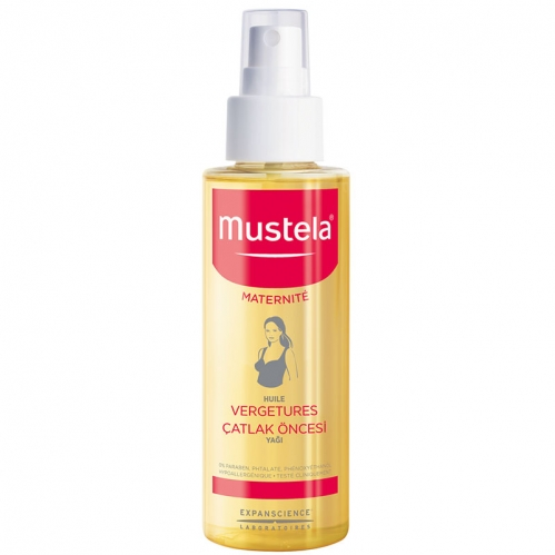 Mustela - Mustela Maternite Stretch Marks Prevention Oil 105ml - Çatlak Öncesi Yağı
