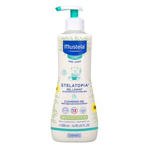 Mustela - Mustela Stelatopia Cleansing Gel 500 ml