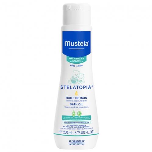 Mustela Ürünleri - Mustela Stelatopia Bath Oil 200ml.