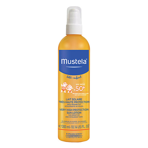 Mustela - Mustela Very High Protection Sun Lotion Spf50 300ml