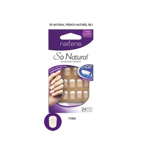 Nailene - Nailene So Natural Takma Tırnak 24 Adet