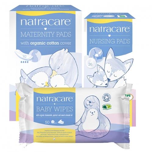 Natracare - Natracare Anne ve Bebeklere Özel Doğal ve Organik 3lü SET