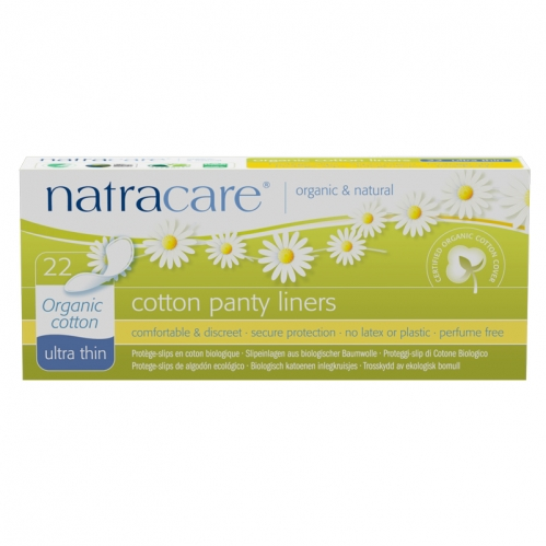 Natracare - Natracare Cotton Panty Liners - Ultra Thin 22 Adet