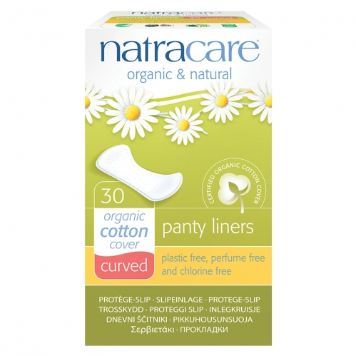 Natracare - Natracare Organic Cotton Cover Curved - 30Adet