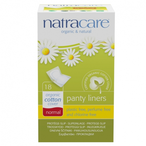 Natracare - Natracare Organic Cotton Cover Normal - 18Adet