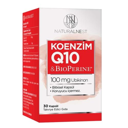 Naturalnest - Naturalnest Koenzim Q10 30 Hard Kapsül