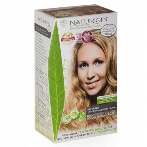 Naturigin - Naturigin Organik İçerikli Saç Boyası 10.3 Altın Sarısı