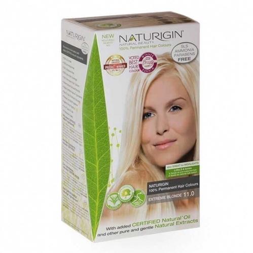 Naturigin - Naturigin Organik İçerikli Saç Boyası 11.0 Çok Açık Sarı