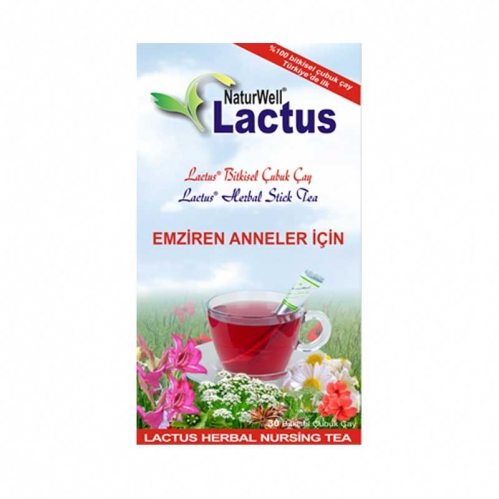 Naturwell - Naturwell Lactus Emziren Anneler için Çay 30 Adet