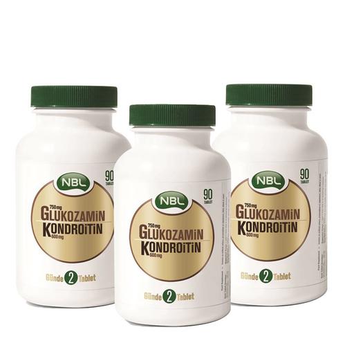 NBL - Nbl Glukozamin Kondroitin 90 Tablet 3al 2öde