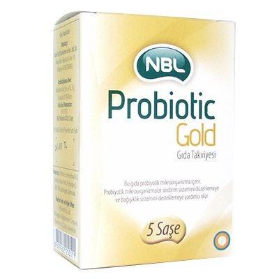 NBL - Nbl Probiotic Gold Takviye Edici Gıda 5 Saşe