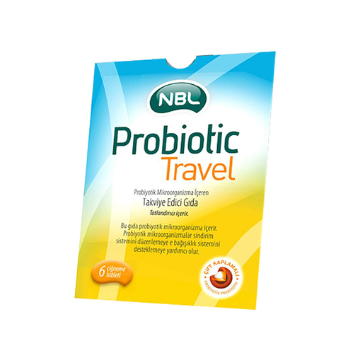 NBL - Nbl Probiotic Travel 6 Tablet