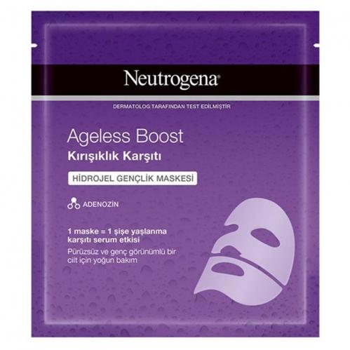 Neutrogena - Neutrogena Ageless Boost Kırışıklık Karşıtı Hidrojel Gençlik Maskesi 30 ml