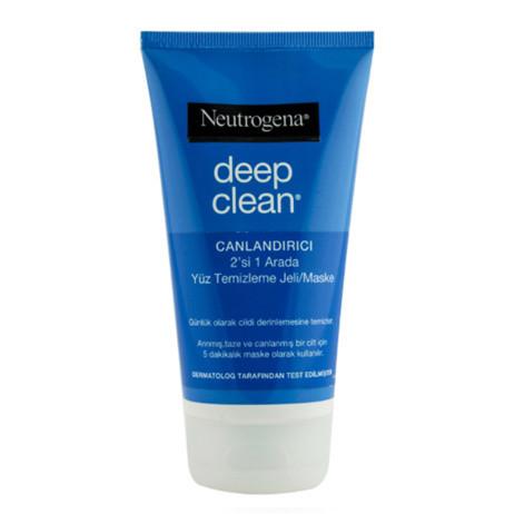 Neutrogena - Neutrogena Deep Clean 2 in 1 Wash/Mask 150 ml