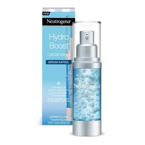Neutrogena - Neutrogena Hydro Boost Canlandırıcı Serum Kapsül 30 ml