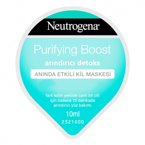 Neutrogena - Neutrogena Purifying Boost Arındırıcı Detoks Maskesi 10 ml