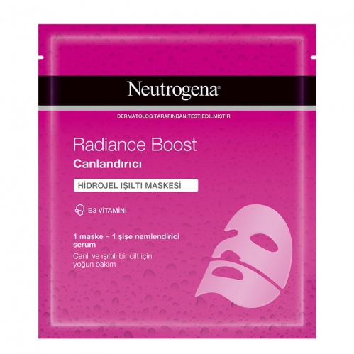 Neutrogena - Neutrogena Radiance Boost Canlandırıcı Hidrojel Işıltı Maskesi 30 ml