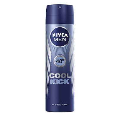 Nivea - Nivea For Men Cool Kick Sprey Deodorant 150ml
