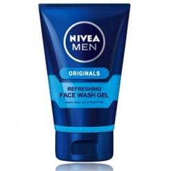 Nivea - Nivea Men Nemlendirici Yüz Temizleme Jeli 100mL