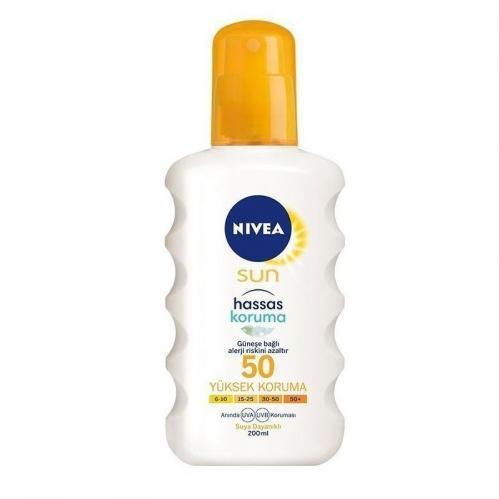 Nivea - Nivea Sun Hassas Koruma SPF50 200ml
