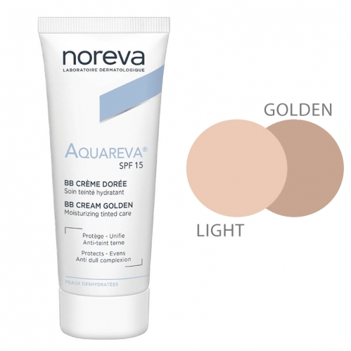 Noreva - Noreva Aquareva SPF 15 BB Krem 40 ml Golden