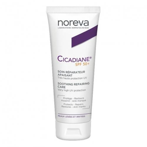 Noreva - Noreva Cicadiane SPF 50+ Yatıştırıcı Bakım Kremi 40 ml