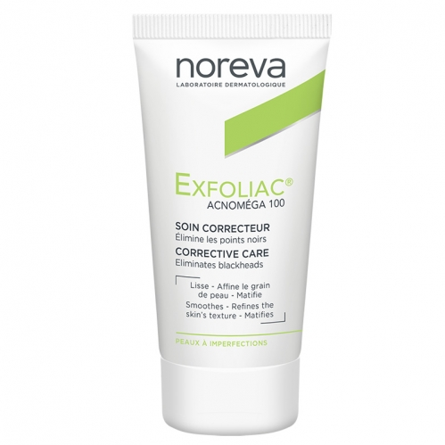 Noreva - Noreva Exfoliac Acnomega 100 Keratoregulating Matifying Care 30ml