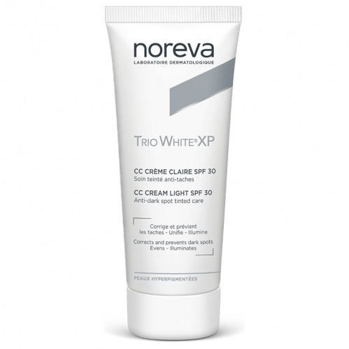 Noreva - Noreva Trio White XP CC Krem SPF 30 40 ml Light