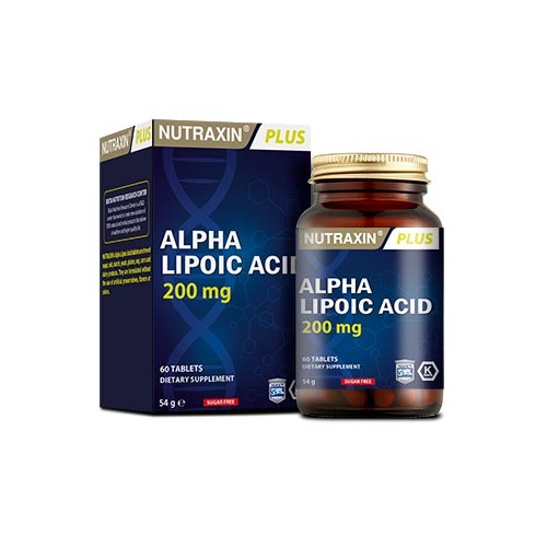 Nutraxin - Nutraxin Alpha Lipoic Acid 60Tablet
