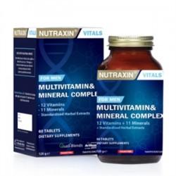 Nutraxin - Nutraxin Multivitamin & Mineral Kompleksi 60 Tablet