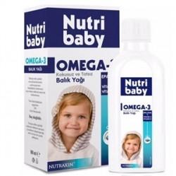 Nutraxin - Nutraxin Nutribaby Omega 3 Balık Yağı Şurubu 100ml