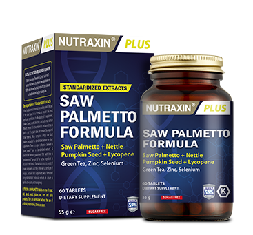 Nutraxin - Nutraxin Plus Saw Palmetto Formula 60 Tablet