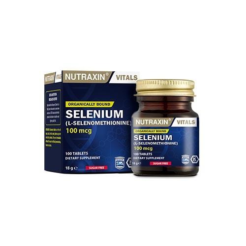 Nutraxin - Nutraxin Selenium 100 Tablet