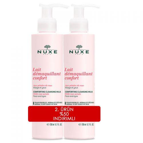 NUXE Lait Demaquillant Confort Makyaj Temizleme sütü 200 ml | 2.ürün %50 indirimli