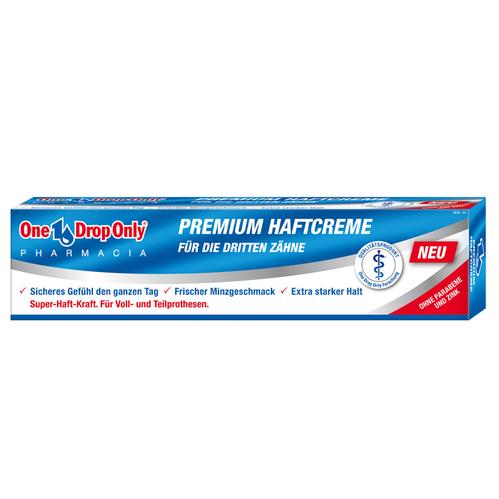 One Drop Only - One Drop Only Premium Diş Protezi Krem Yapıştırıcısı 50 ml