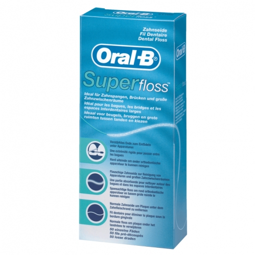 Oral-b - Oral-B Super Floss Diş İpi