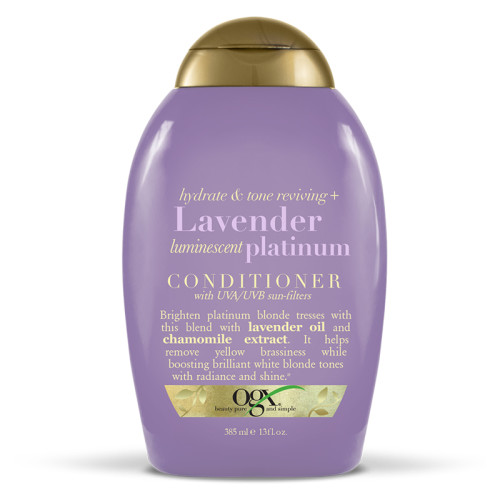 Organix - Organix Lavender Luminescent Platinum Conditioner 385ml