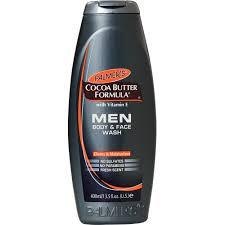 Palmers Men Body & Face Wash Cleans and Moisturizes 400ml