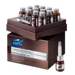 Phyto Saç Bakım - Phyto Paris Phytologist 15 Saç Dökülmesine Karşı Etkili Serum 12 x 3.5ml