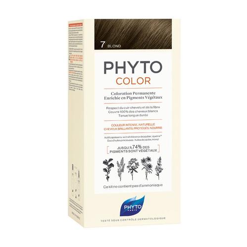 Phyto Saç Bakım - Phyto Phytocolor Bitkisel Saç Boyası - 7 - Kumral