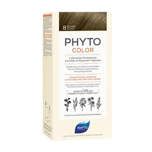 Phyto Saç Bakım - Phyto Phytocolor Bitkisel Saç Boyası - 8 Sarı