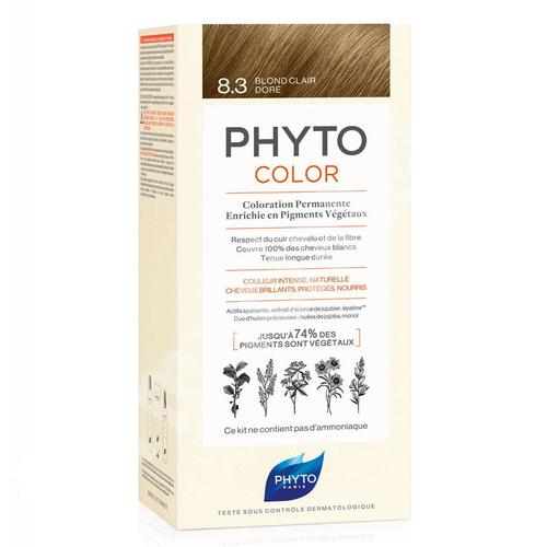 Phyto Phytocolor Bitkisel Saç Boyası 8.3 Sarı Dore Yeni Formül