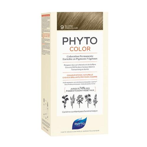 Phyto Saç Bakım - Phyto Phytocolor Bitkisel Saç Boyası - 9 - Açık Sarı