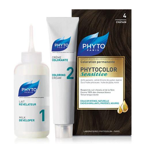 Phyto Saç Bakım - Phyto Phytocolor Sensitive Saç Boyası 4 Kestane