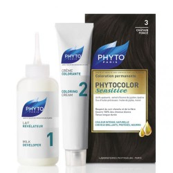 Phyto Saç Bakım - Phyto Phytocolor Sensitive Saç Boyası 3 Koyu Kestane