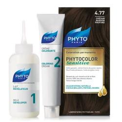 Phyto Saç Bakım - Phyto Phytocolor Sensitive Saç Boyası 4.77 Çikolata Kahve