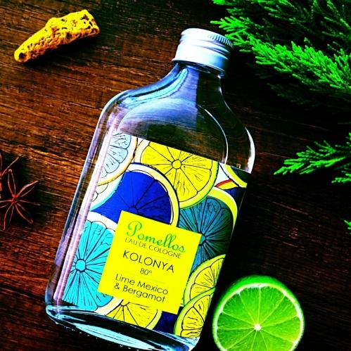 Pomellos - Pomellos Lime Mexico & Bergamot 250 ml