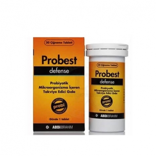 Abdi İbrahim - Probest Defense Probiyotik Takviye Edici Gıda 20 Tablet