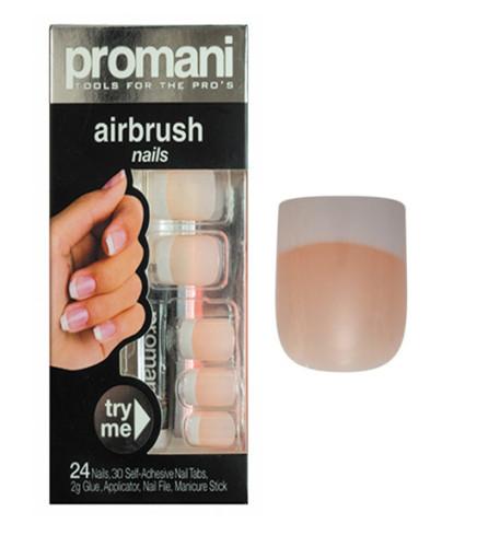 Promani - Promani Kalın French Takma Tırnak Kiti Easy Pink
